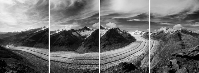 Aletsch Glacier, Switzerland, 22 September 2011