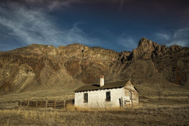 6Salmon Cabin Eastern Idaho by David Palmer