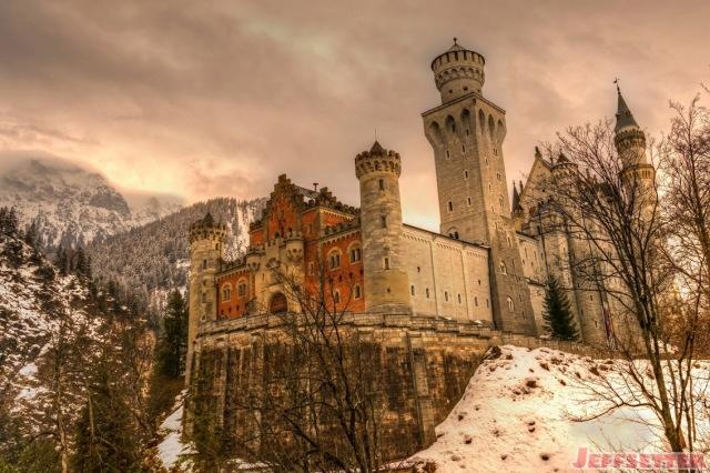 4Neuschwanstein-Castle-in-Winter, Jeff Setter or Sauer