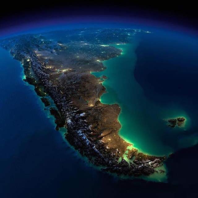 5Stunning picture of South America taken from the International Space Station shared by RegSaddler